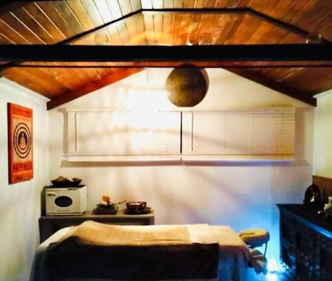 Holistic Massage room at Moksha